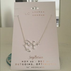 Lauren Conrad Sagittarius Zodiac Sign Necklace